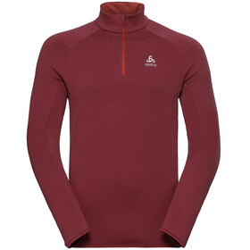 Odlo Carve Warm Midlayer Heren rood